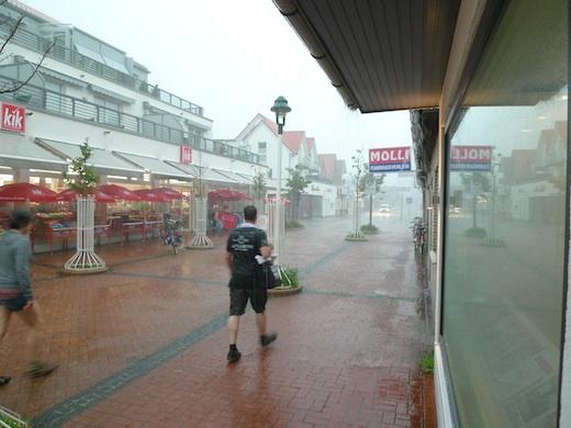 Norderney Starkregen