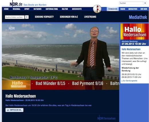 Norderney Wetter am Dienstag