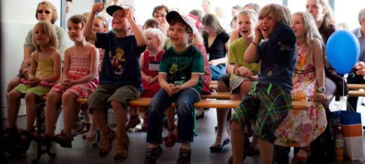 Puppentheater Publikum