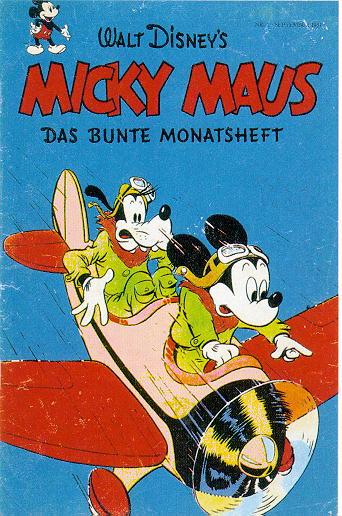 micky mouse erstausgabe