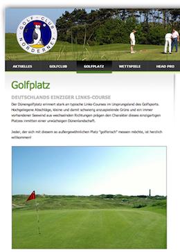 golf norderney