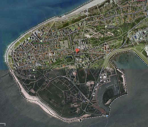 googlemaps satellite norderney