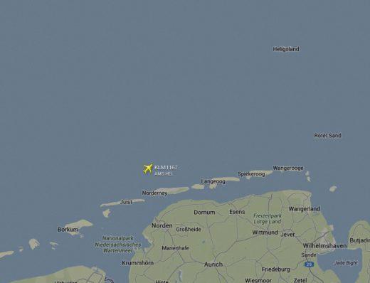 Norderney Luftraum 25.12