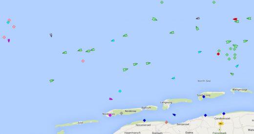 Norderney Schiffsverkehr 2512