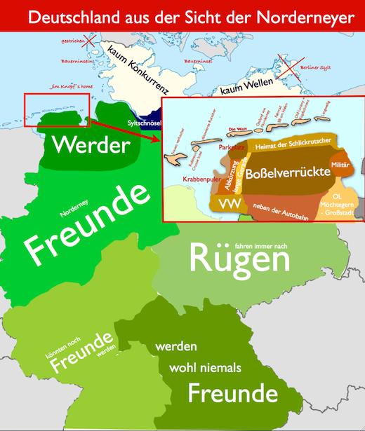 Sicht der Norderneyer