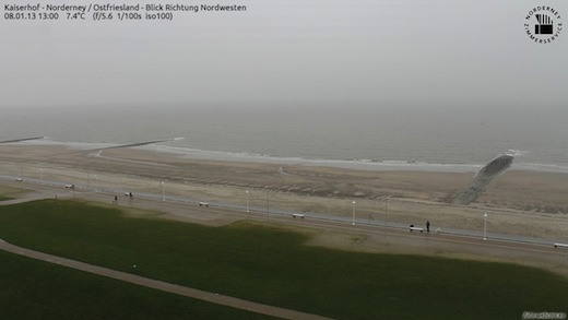 Norderney am 8.1.2013