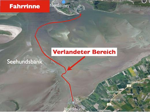 Fahrrinne Norderney