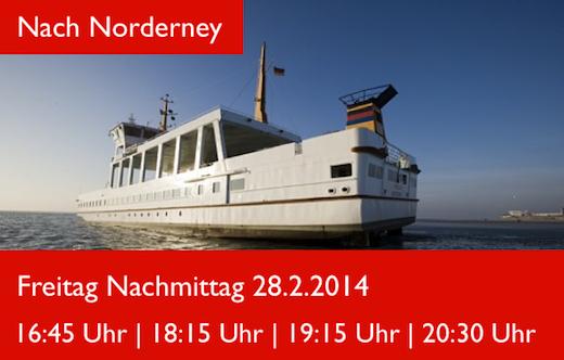 nach Norderney