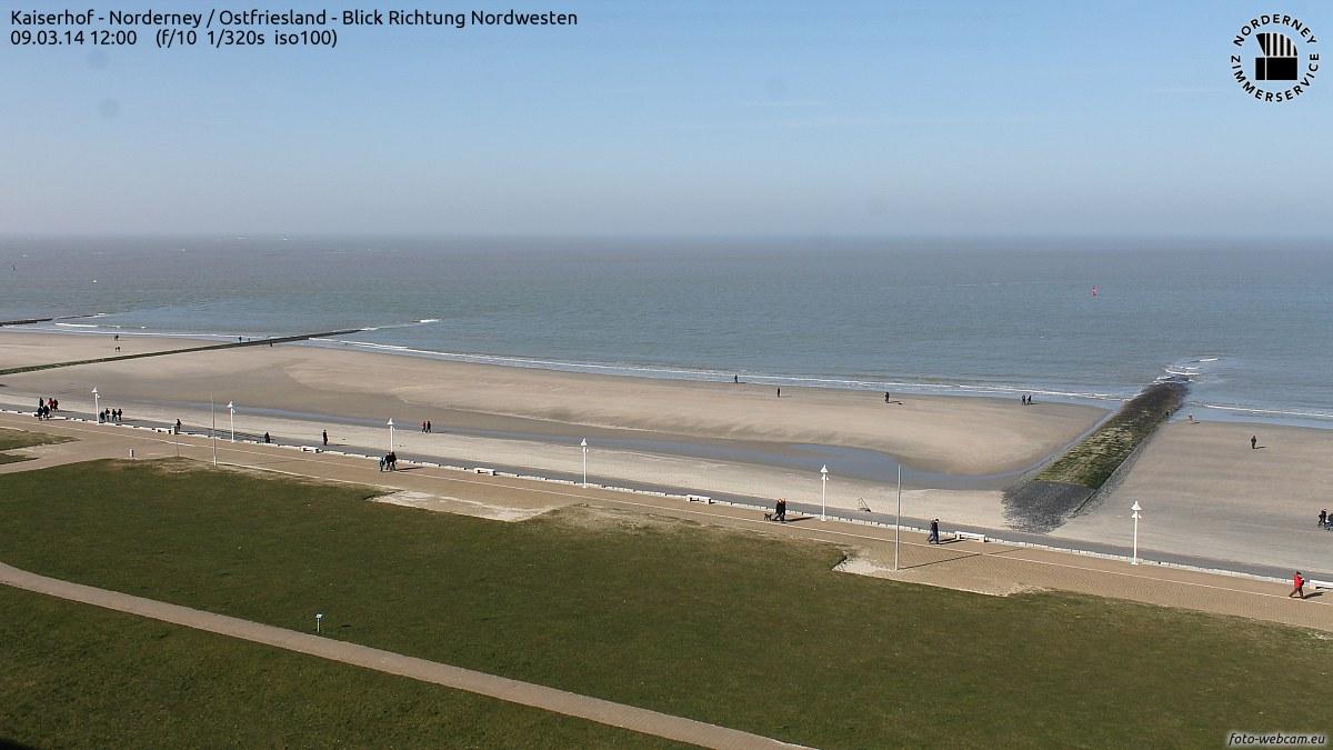 Norderney 9.3.2014 Sonne