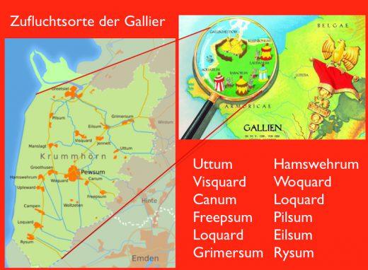 Zufluchtsorte der Gallier