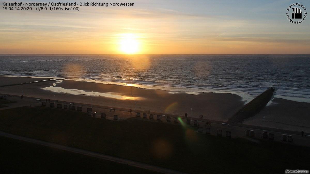 Norderney Sonnenuntergang 20:20