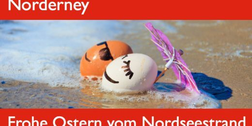 Frohe Ostern vom Nordseestrand