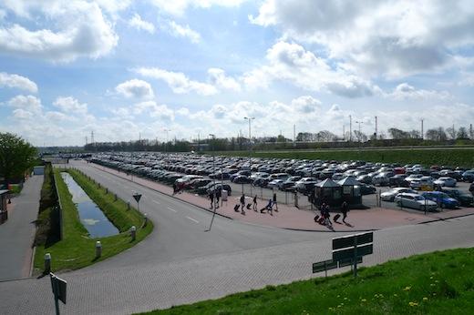Norddeich Mole Frisia Parkplatz in den Osterferien