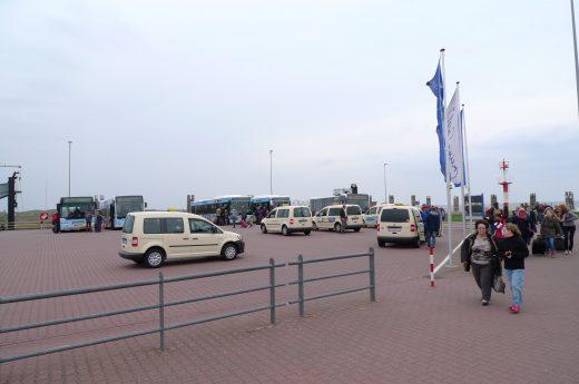 Ankunft Norderney
