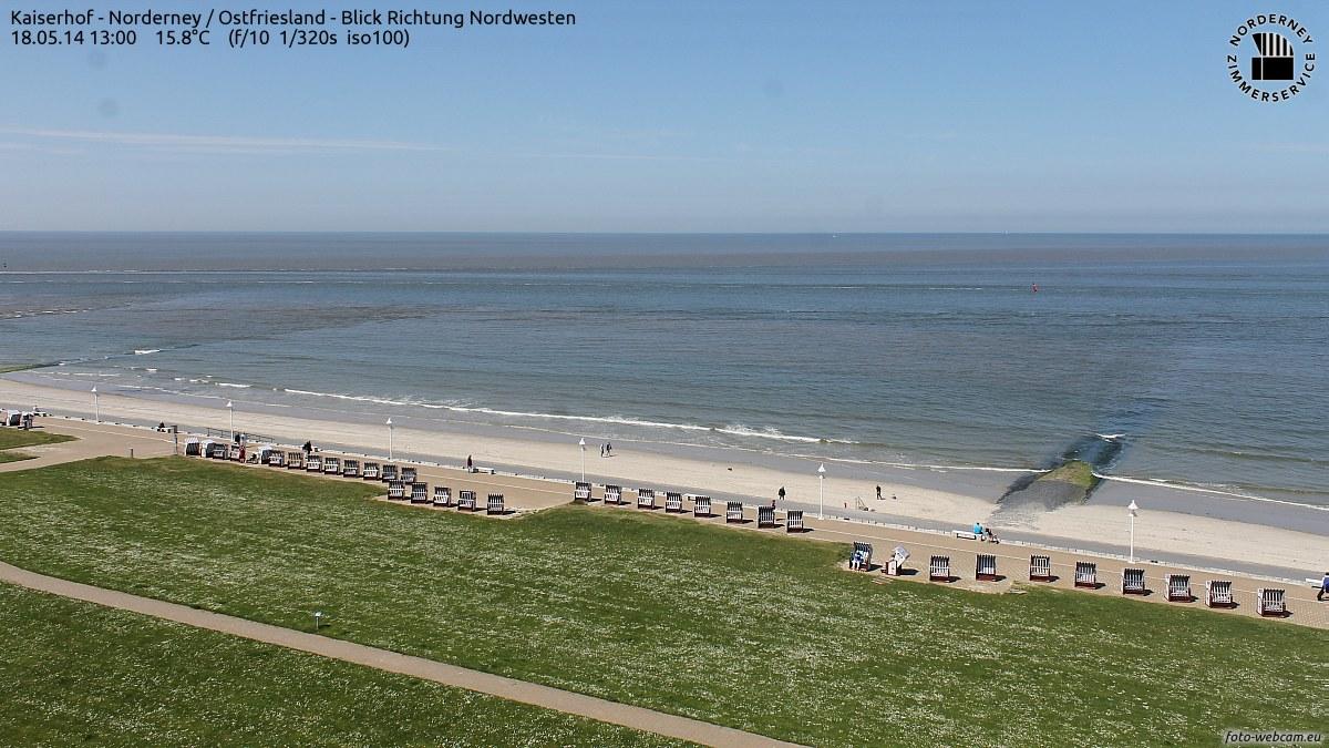 Temperaturen Norderney