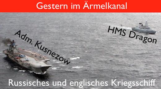 Kriegsschiffe im Ärmelkanal
