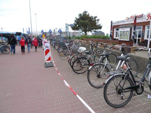 Fahrräder kommen weg