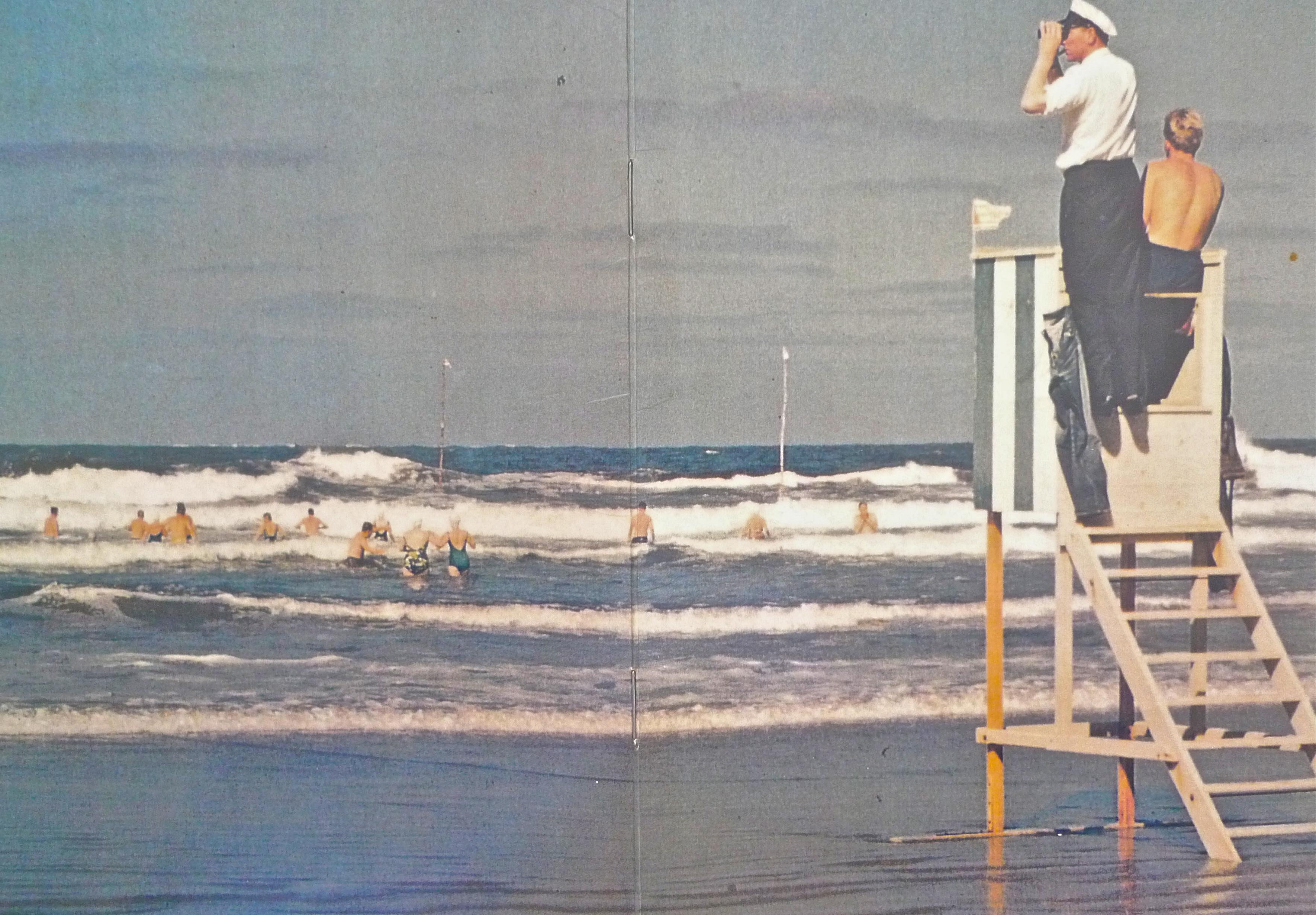 Norderney Strandkapitän 50er Jahre