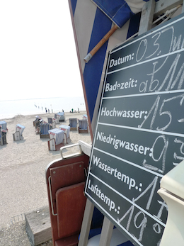 Strandtemperatur Norderney