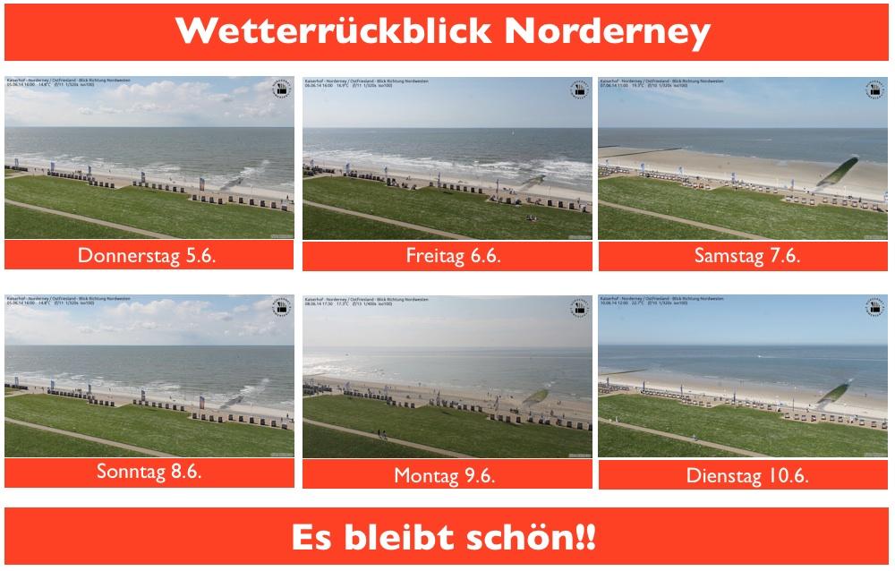 Es bleibt schön auf Norderney