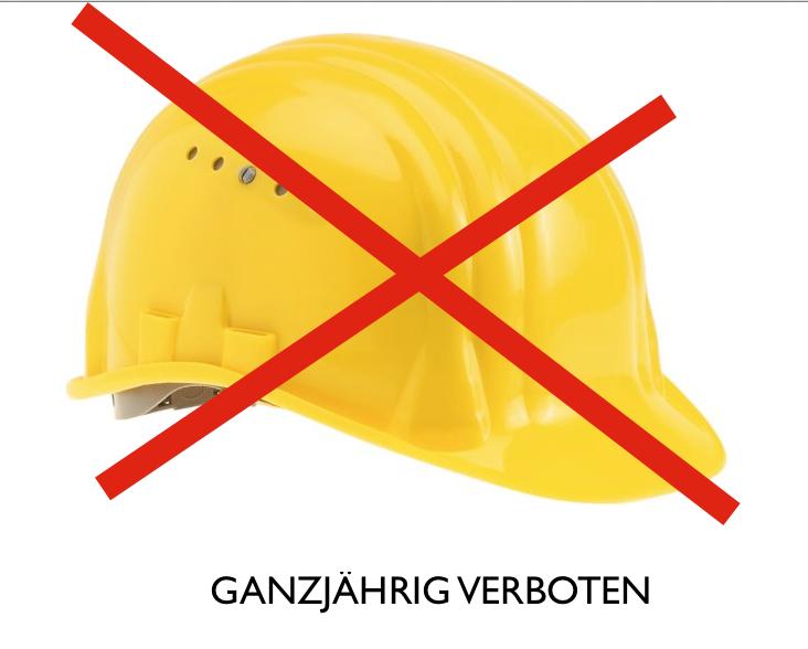 ganzjährig verboten