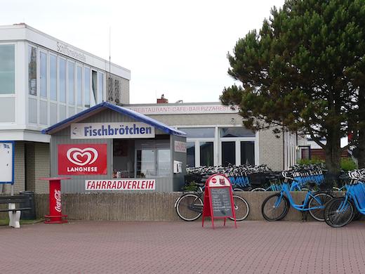 Hafenrestaurant Fahrradverleih