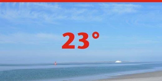 Wassertemperatur Nordsee