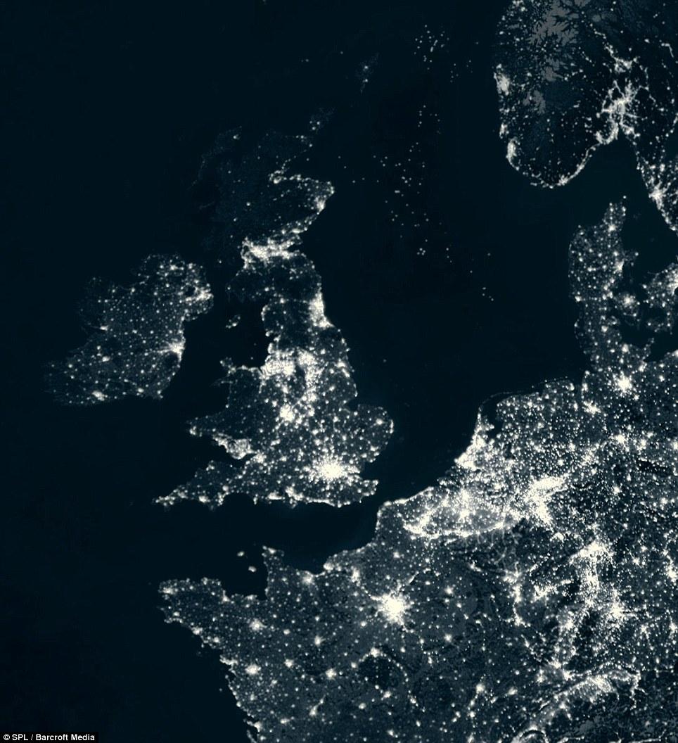 Light Pollution North Sea