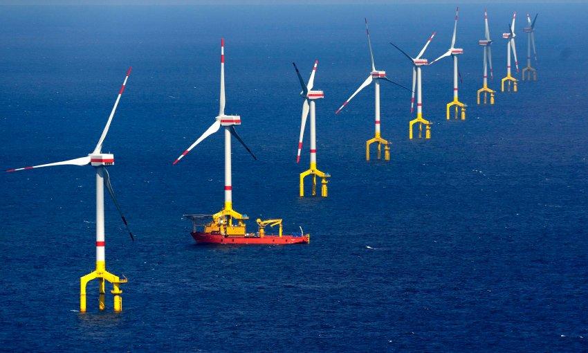 Borkum Windenergie