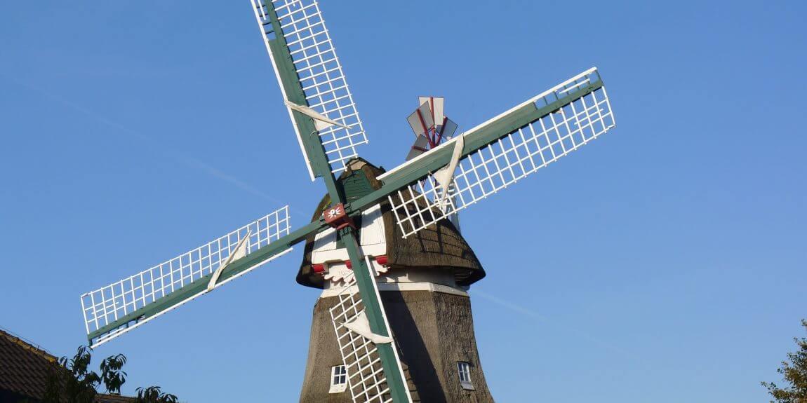 Norderney Windmühle Trauerschere