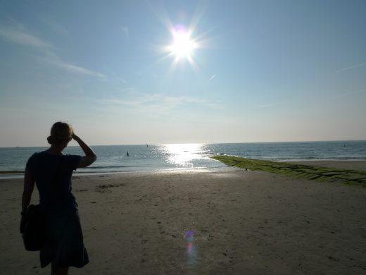 Norderney Sommer im September - letztes Bad