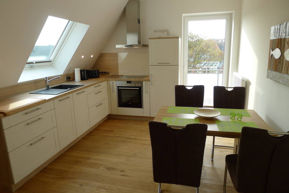 Norderney Küche Fewo