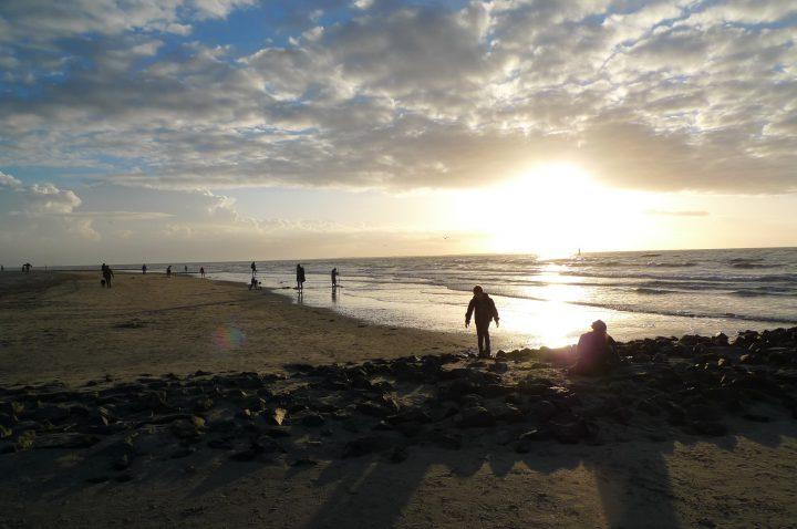 Norderney Sonnenuntergang Milchbar