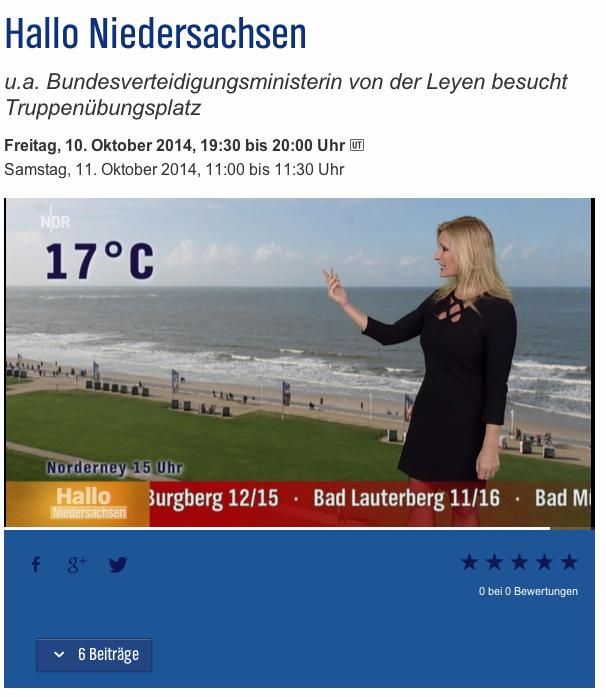 Norderney Wetter und Webcam Kaiserhof