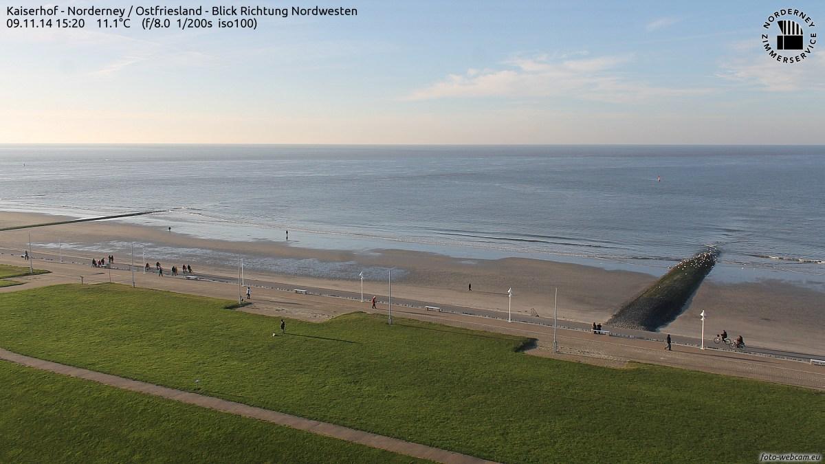 Norderney um 15:20 Uhr 9.November 2014