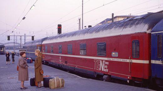 Schlafwagen Ankunft in München