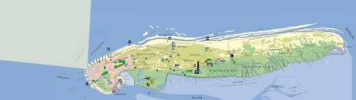 Inselkarte von Norderney