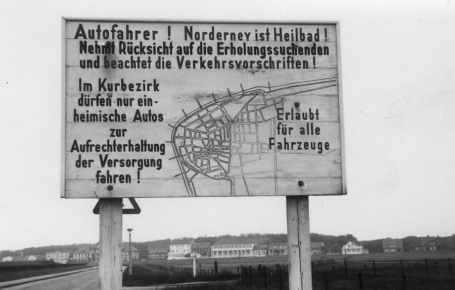 Autos Kurbezirk 1955