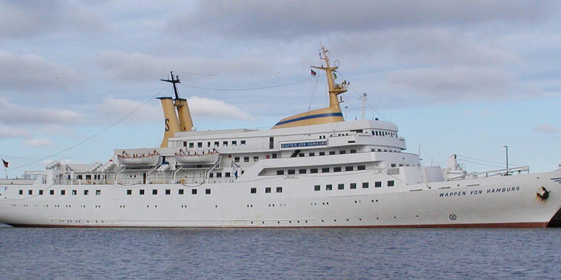 Seebäderschiff Wappen von Hamburg