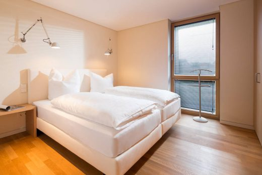 Seepferdhen 4 Norderney Schlafzimmer mit Boxspringbetten