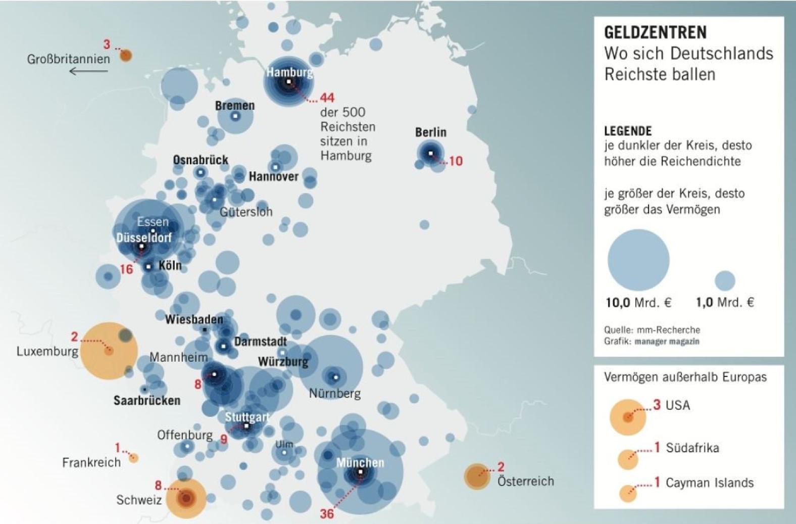 Reiche Städte Deutschland