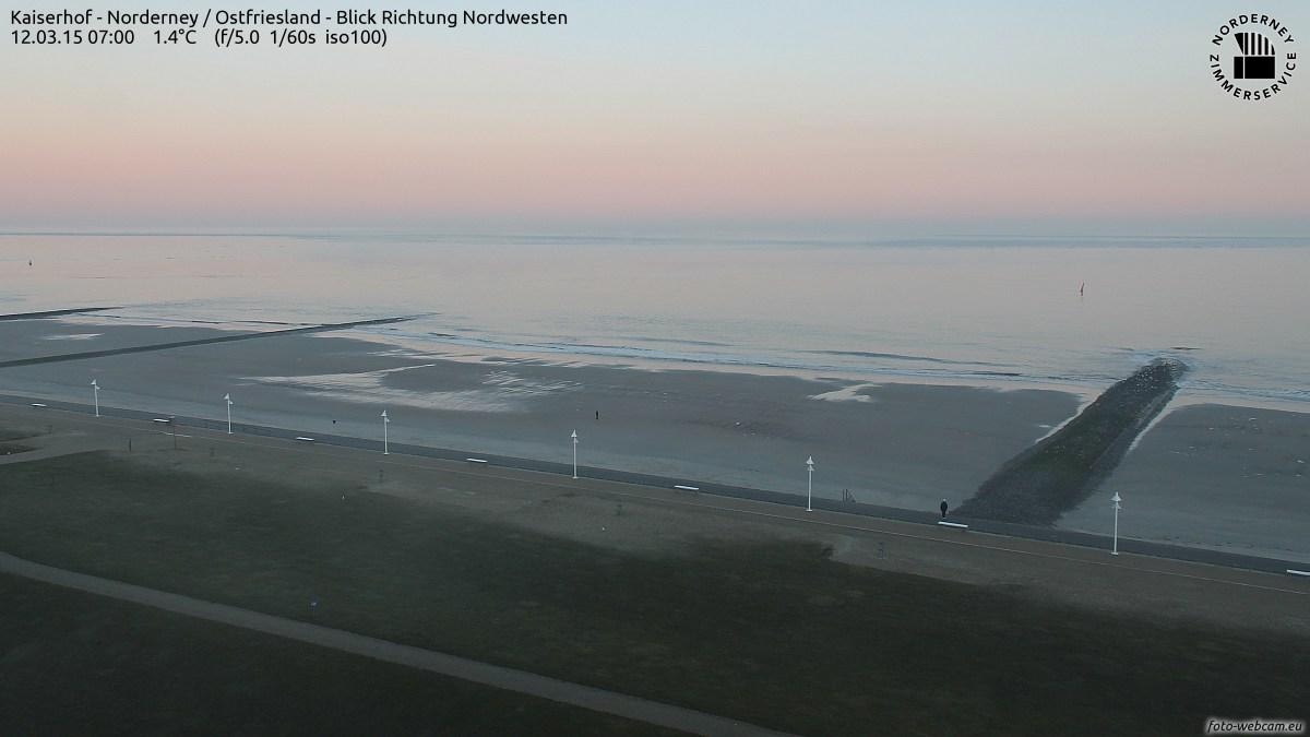 Norderney sonnig und kalt