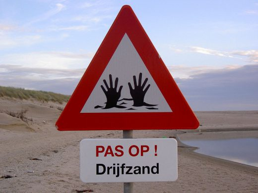 Treibsand auf Texel
