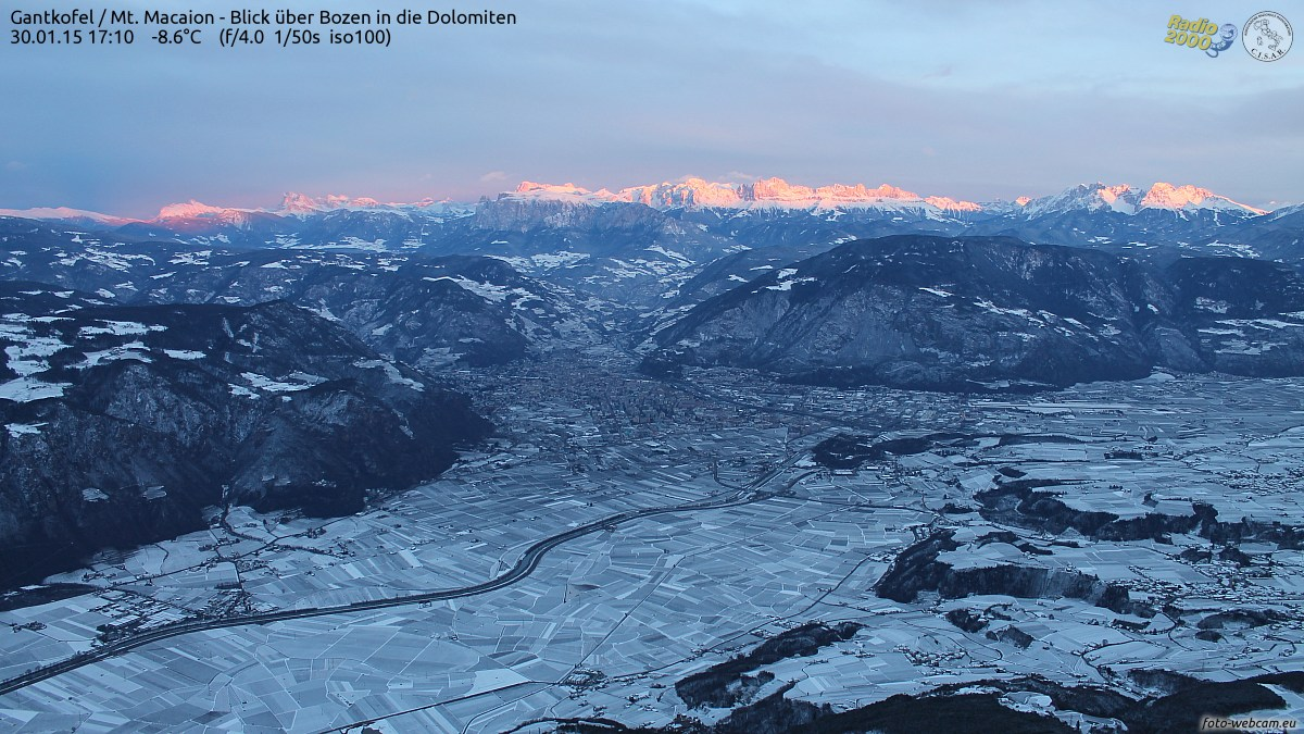 angestrahlte Dolomiten