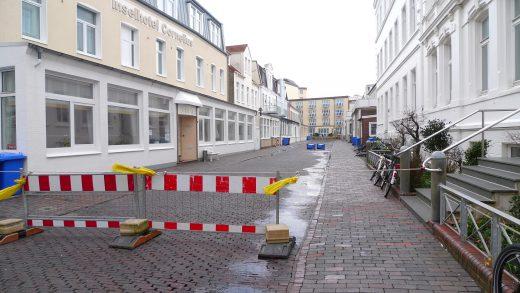 luisenstraße gesperrt