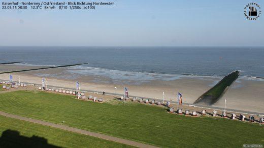Norderney am Morgen