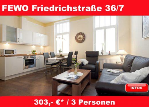 ferienwohnung friedrichstraße 36 nummer 7