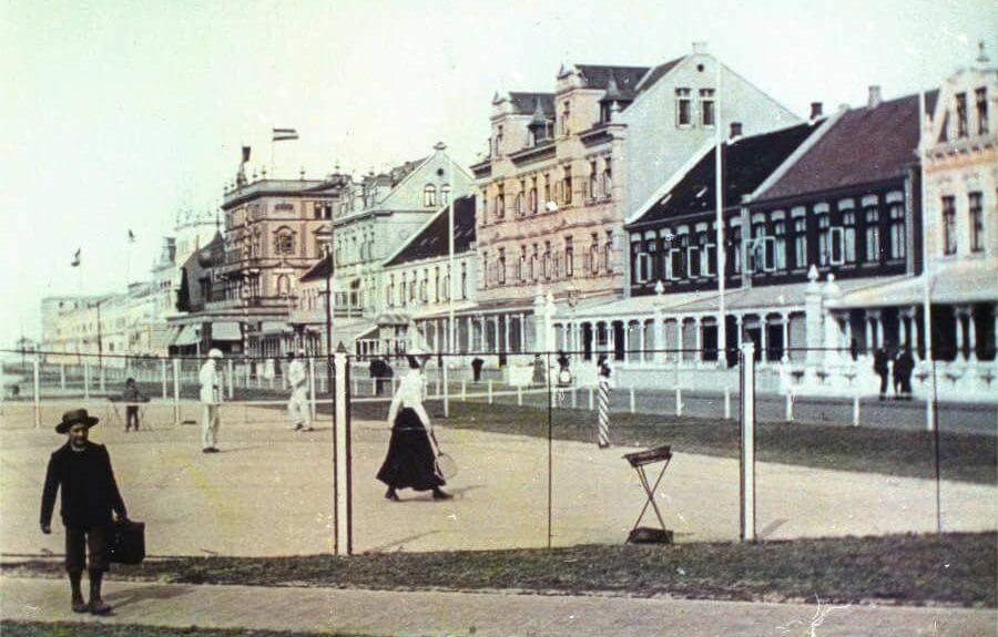 Kaiserstraße Norderney 1908