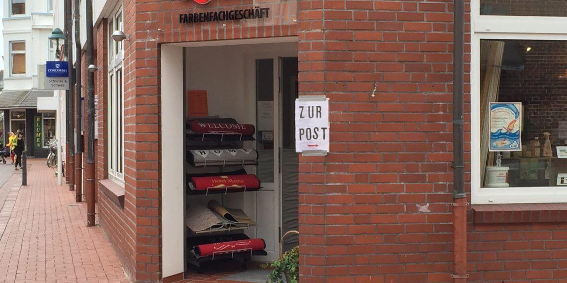 Norderney zur Post