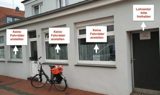 keine Fahrräder